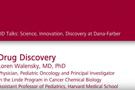 Watch Dr. Loren Walensky talk about the collaborative drug discovery taking place at Dana-Farber Cancer Institute